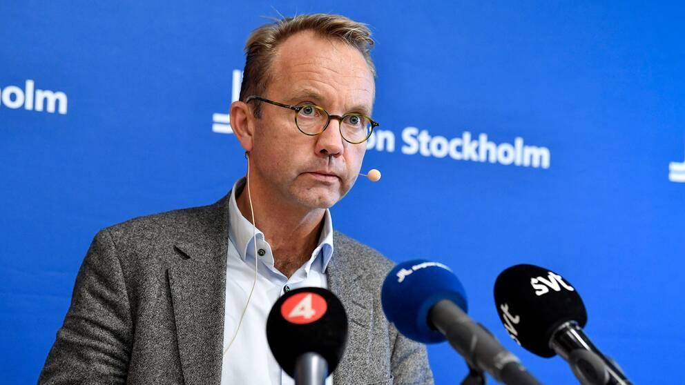 Hälso- och sjukvårdsdirektör Björn Eriksson