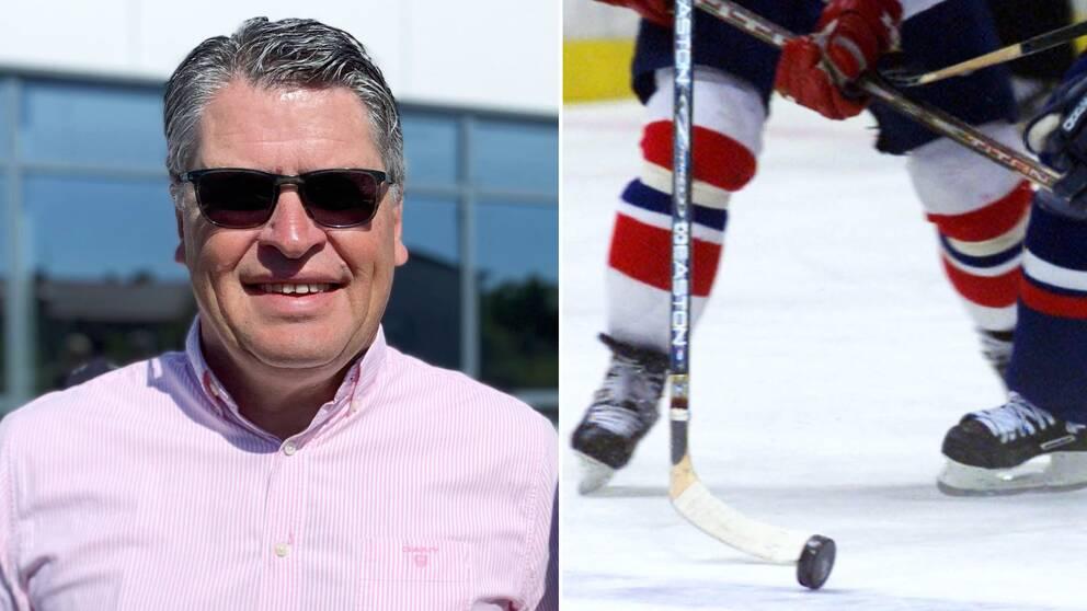 Conny Berg, ordförande i Krif Hockey