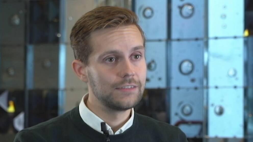 Martin Söndergaard, forskare på Handelshögskolan i Stockholm