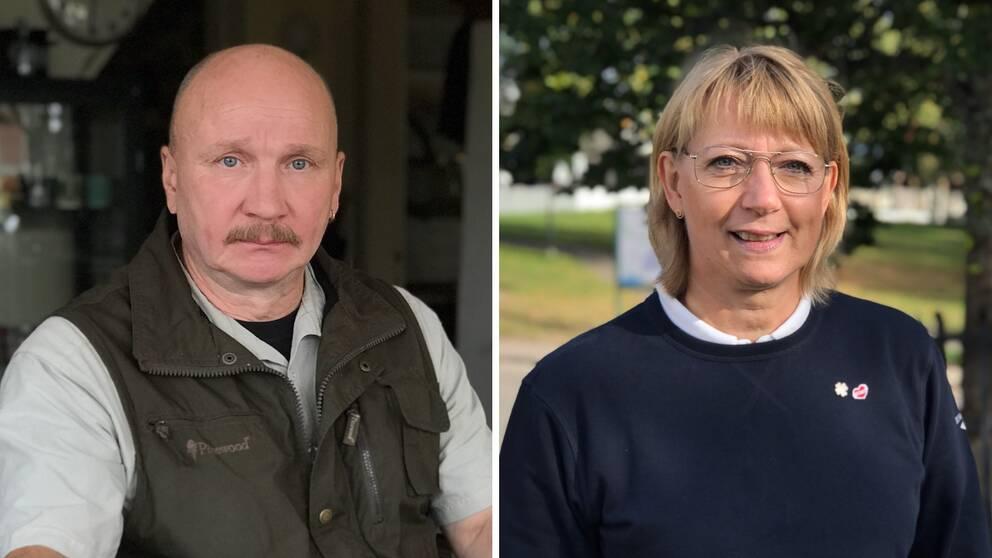 Ulf H Bertills och Britt-Marie Sjöberg