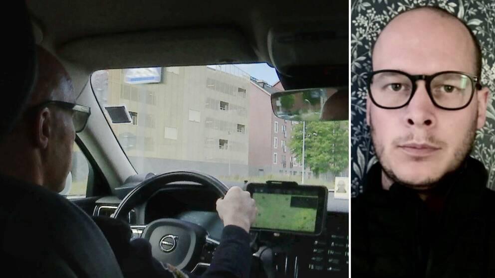 Starta klippet för att höra Erik Helgesson, ägare av bolaget Hagfors Taxi, berätta om det svåra coronaläget