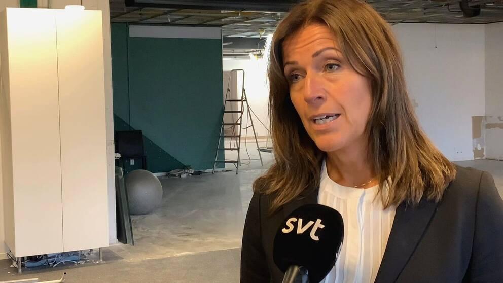 Eva Nyh Hederberg, vd för Näringslivsbolaget i Sundsvall.