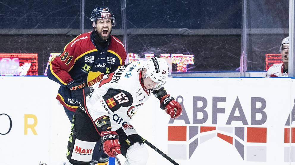 Dick Axelsson, till vänster, och Fredrik Händemark.