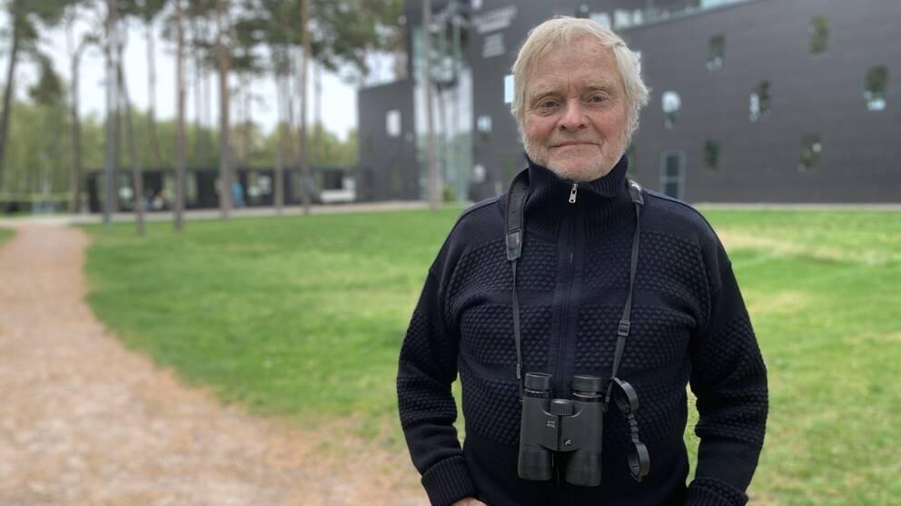 Mikael Kristersson utanför Naturum.