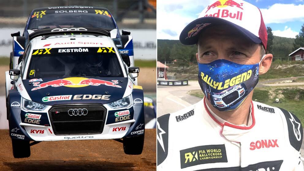 Mattias Ekström är orolig över utvecklingen i rallycrossen med de tysta elbilarnas intåg.