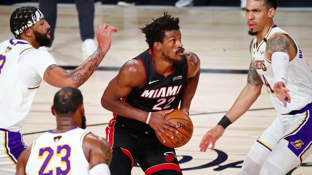 Miamis Jimmy Butler gjorde 40 poäng