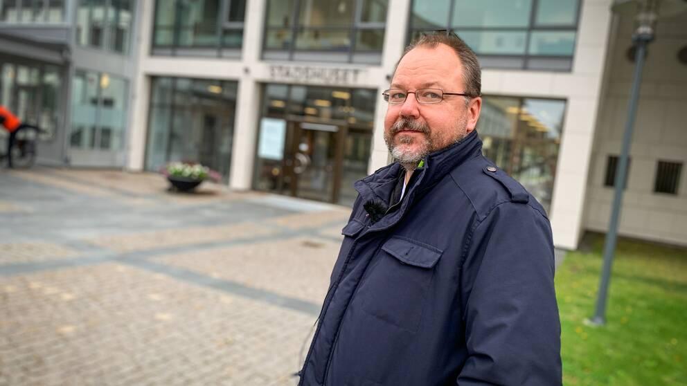Lars Karlsson (S), ordförande i kunskapsnämnden i Sandviken.