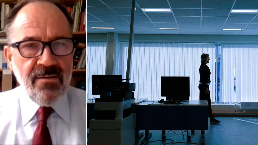 – Efterfrågan på lokaler ser något svagare ut, berättar Anders Kvist, rådgivare på Finansinspektionen.