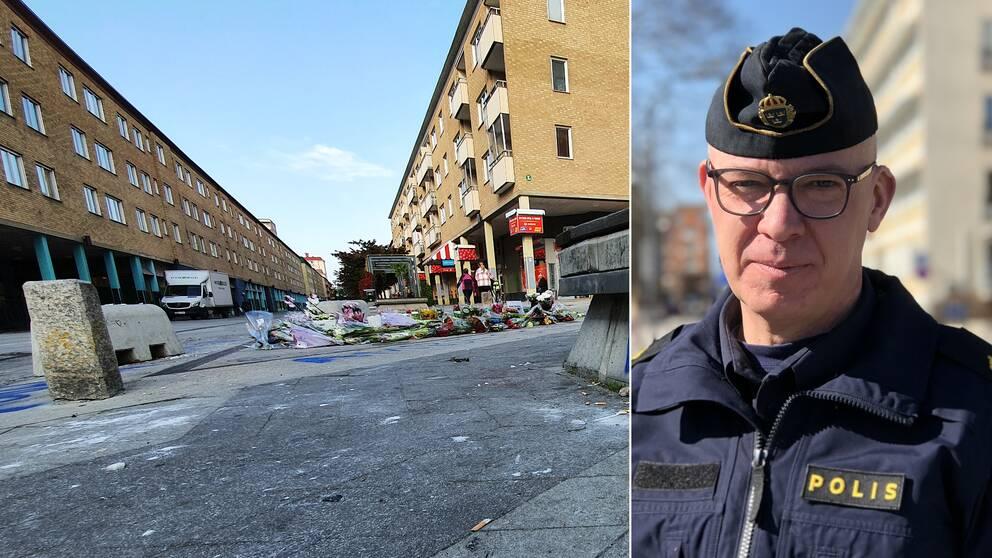 Nyforsgatan i Eskilstuna samt Thomas Bergqvist.