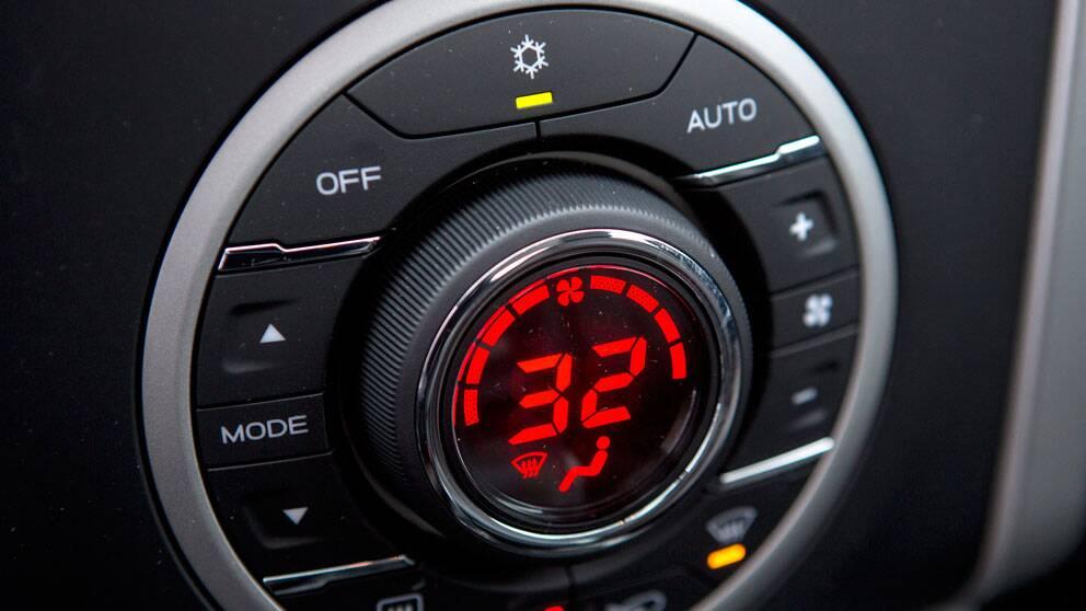 AC-anläggning i bil