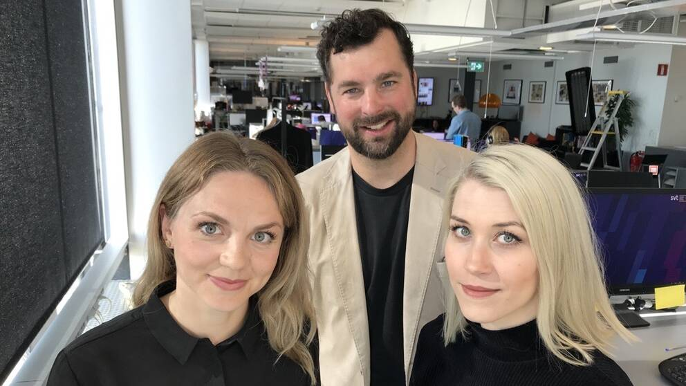 """Rebecca Nyström, Anton Svendsen och Anna Wikman fick Circomprisets hedersomnämnande i klassen """"Most Original and Innovative""""."""