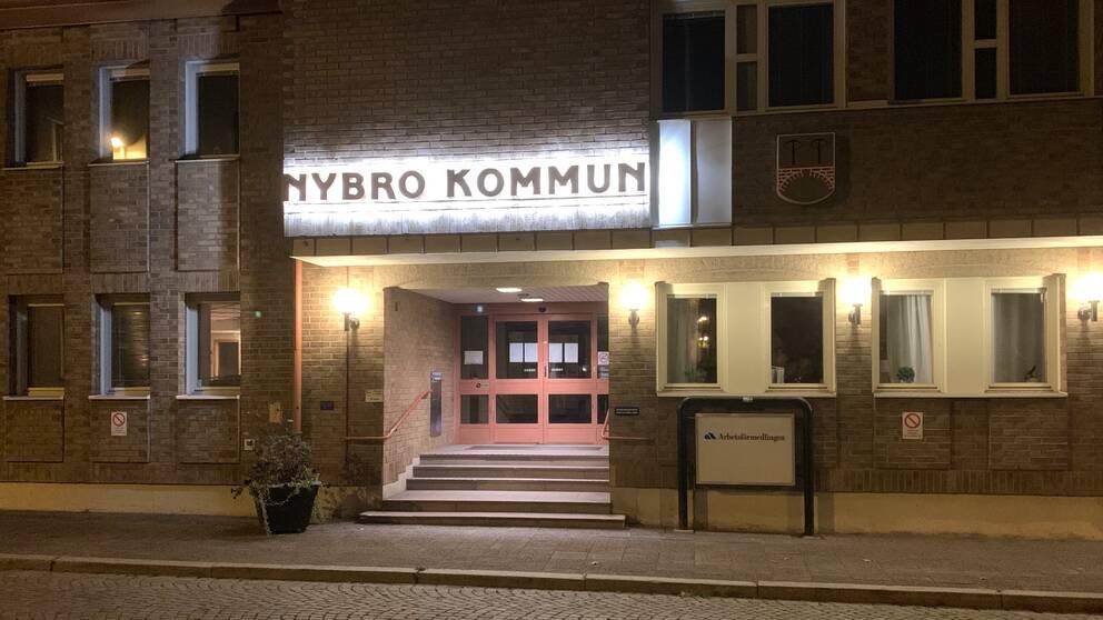 Nybro kommunhus / Nybro kommun.