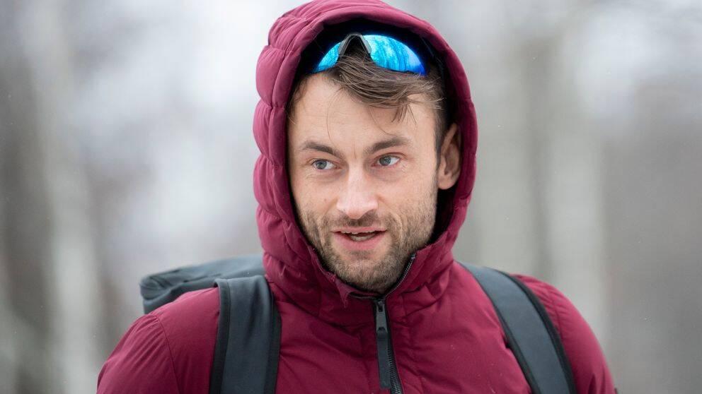 Petter Northug i vinterkläder.