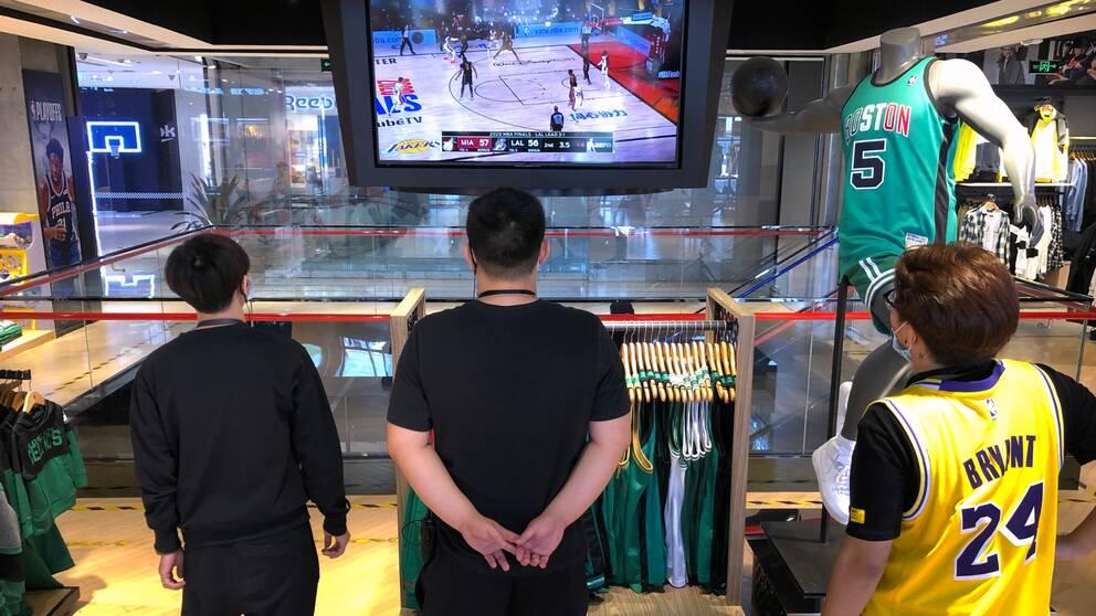 Nu kan man åter se NBA på kinesisk TV.