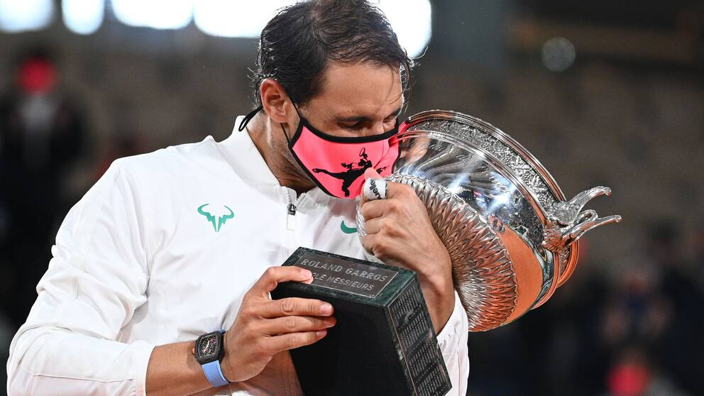 Rafael Nadal tog sin 13:e titel i Franska öppna.