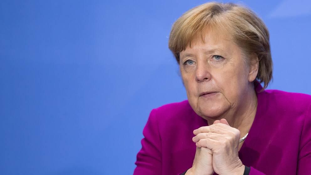 Arkivbild. Tysklands förbundskansler Angela Merkel.