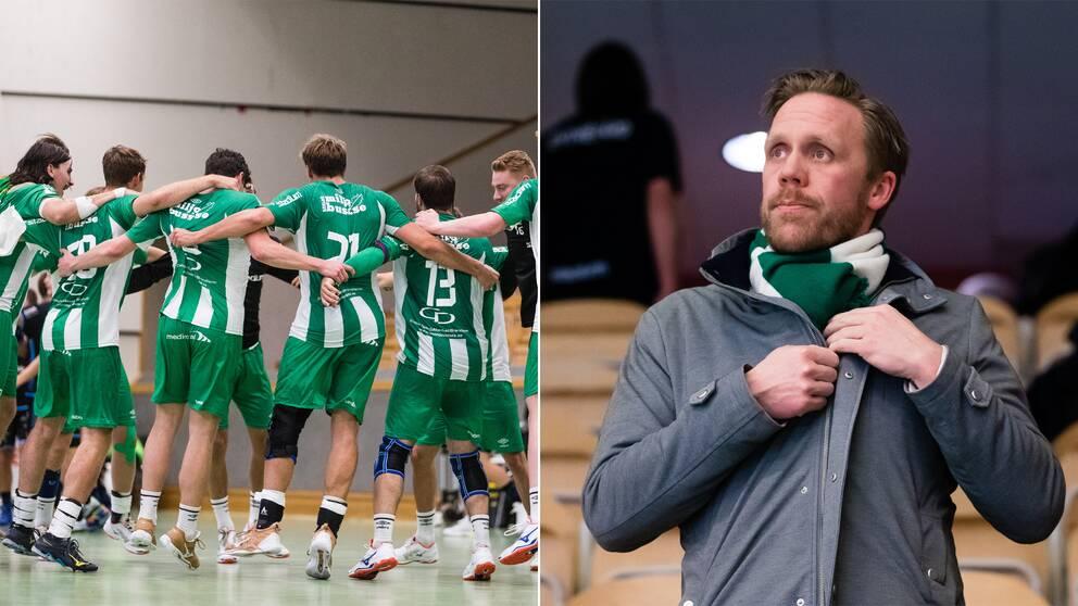 Hammarby Handboll och deras vd Kalle Matsson