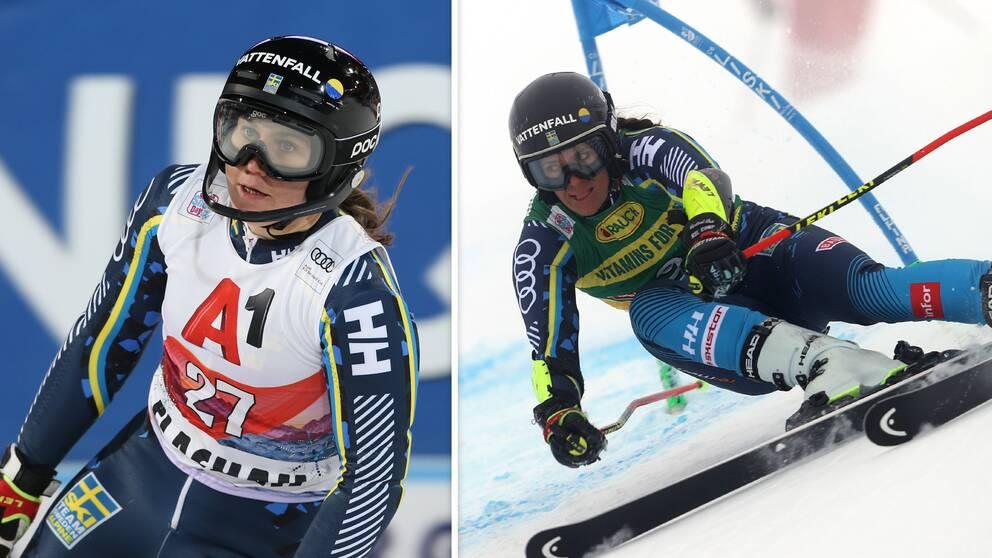 Både Estelle Alphand och Sara Hector misslyckades i världscuppremiären.