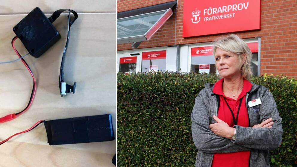 Trafikverkets förarprov i Karlskrona, Anneli Svensson
