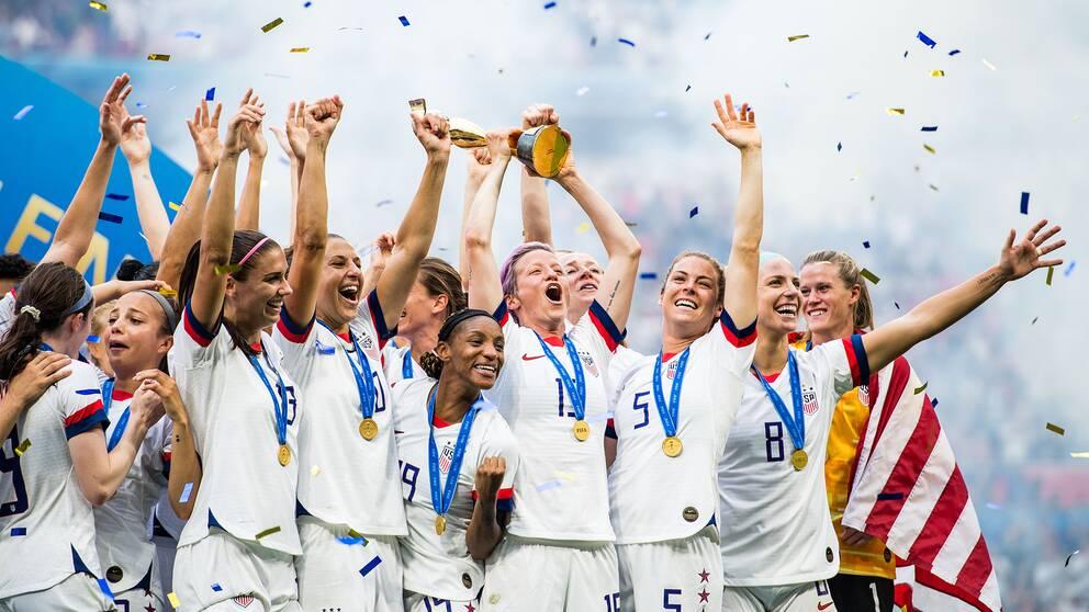 USA vann VM-guldet 2019.