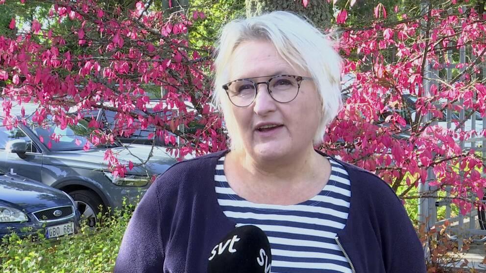 Elisabet Olsson på smittspårningsenheten i region Kalmar ser mer oro på bedrägeriförsöken mot äldre från påstådda smittspårare.