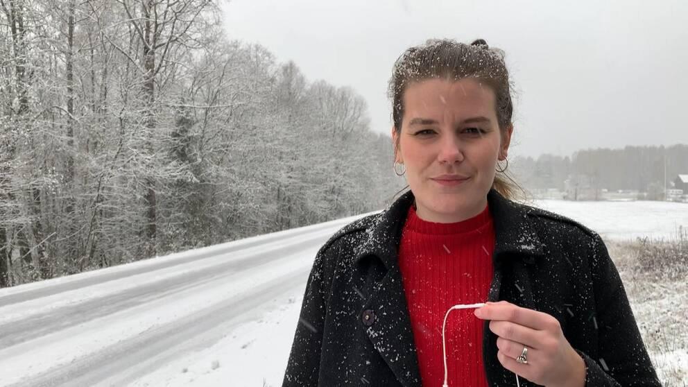 Vår reporter Frida Ingemarsson rapporterar från ett snöigt Stöllet.