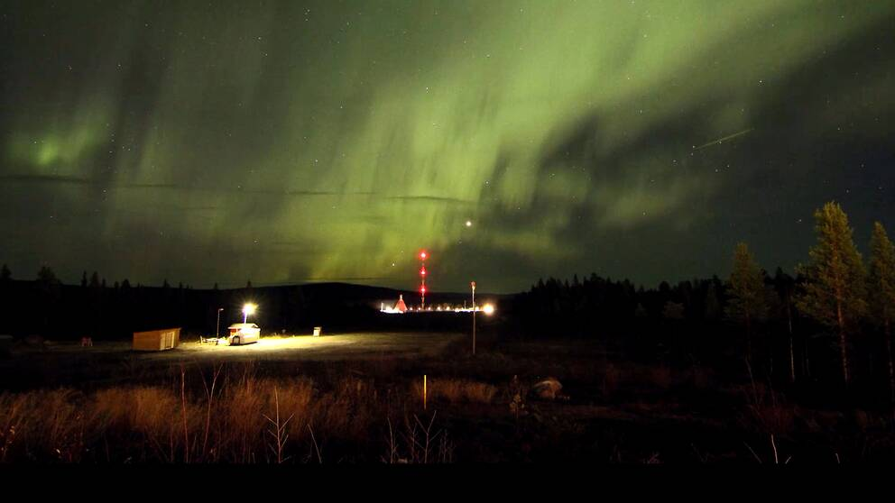 Bild på norrsken