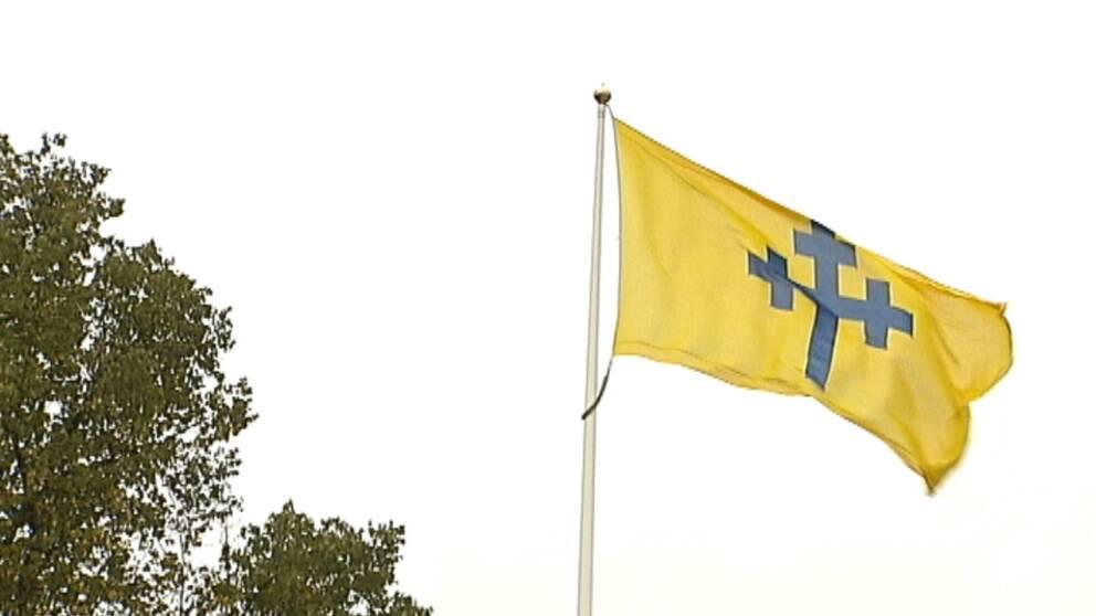 Flagga Köpings kommun