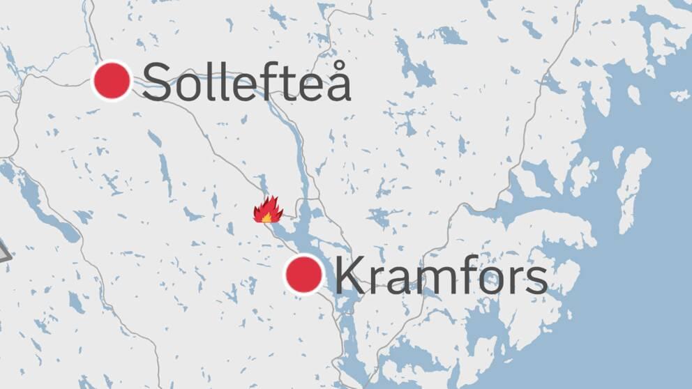 Karta Kramfors