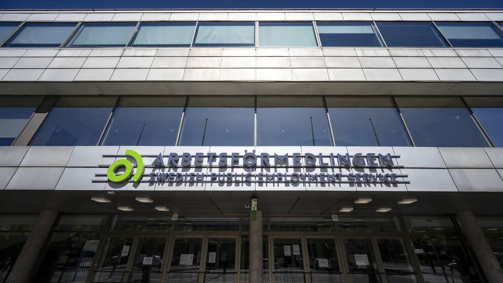 Arbetsförmedlingen på Föreningsgatan i centrala Malmö.