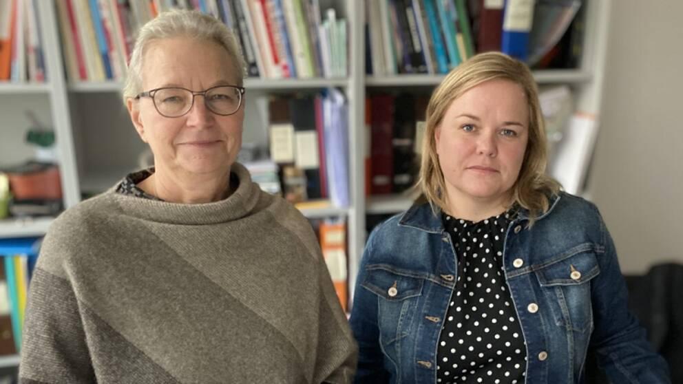Katja Gillander Gådin och Heléne Dahlqvist har intervjuat ungdomarna som är med i studien.