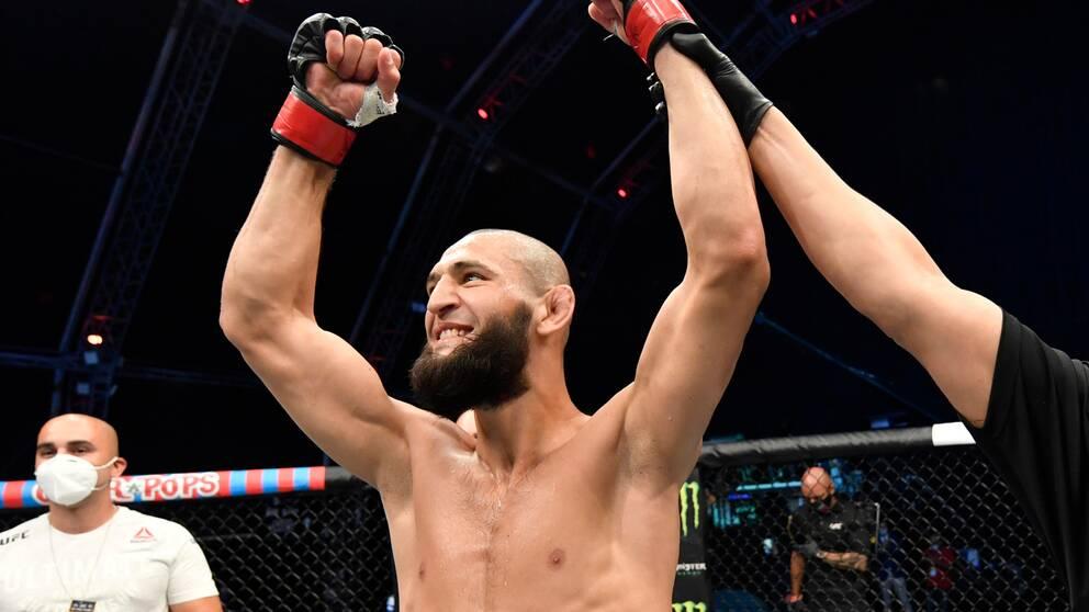 UFC-stjärnan Khamzat Chimaev kan jubla över att han fått en ny match.