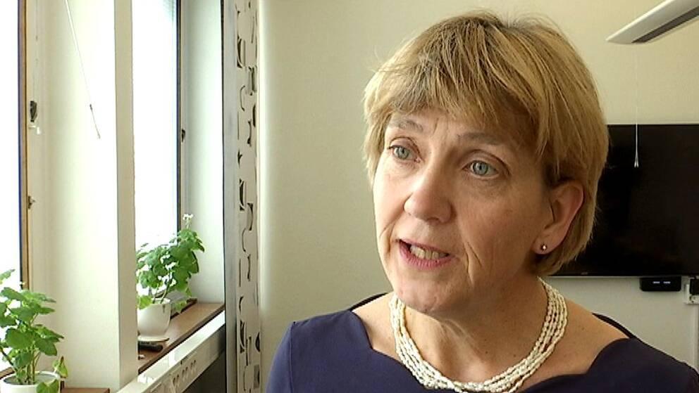 Lena Sommestad, landshövding i Hallands län.