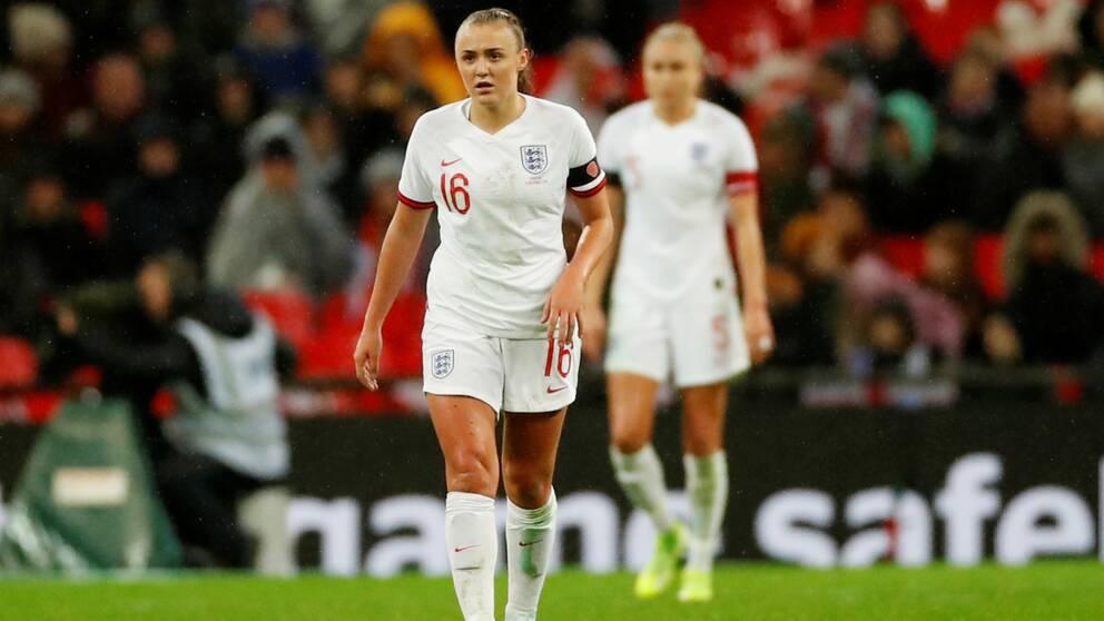 Georgia Stanways England får stå över den planerade matchen mot Tyskland.