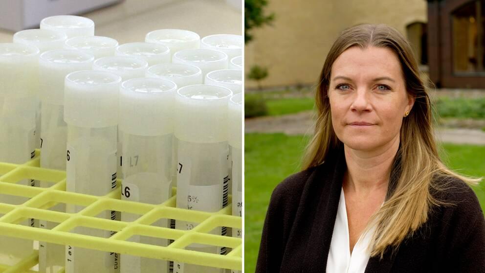 Johanna Wiechel-Steier är kommunikationsdirektör på Region Halland.