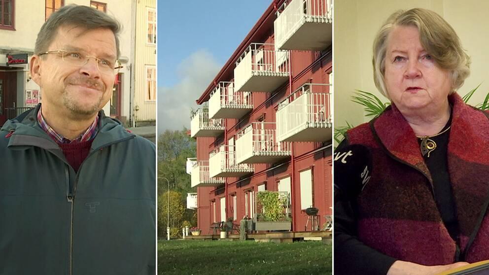 TF kommunchef i Sunne, Anders Olsson, och Inger Axelsson (M) som är ordförande för kommunerevisorerna
