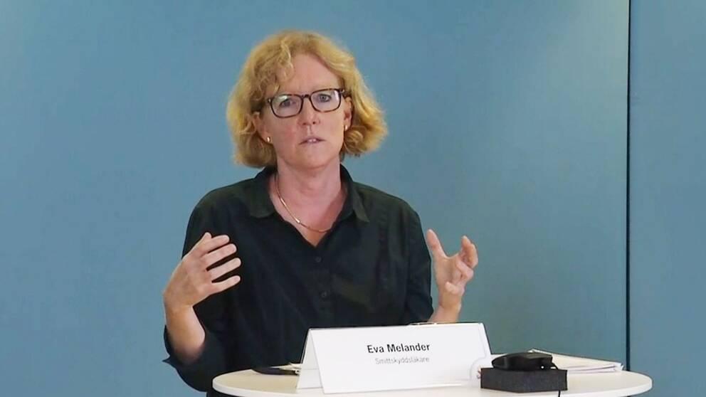 Region Skånes smittskyddsläkare Eva Melander.