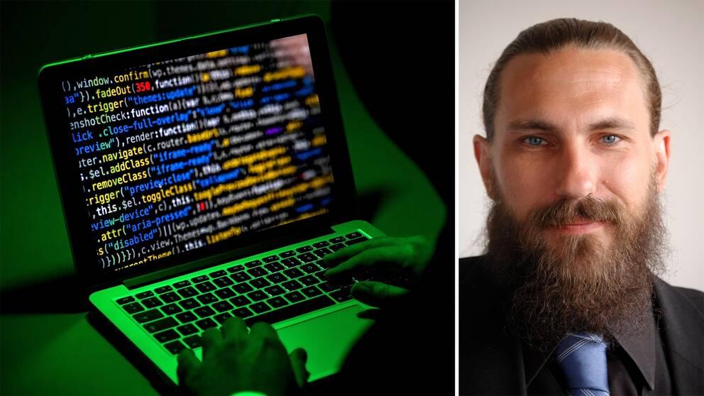 Att använda skadlig kod är inte jätteavancerat, menar it-säkerhetsexperten Magnus Bergström.