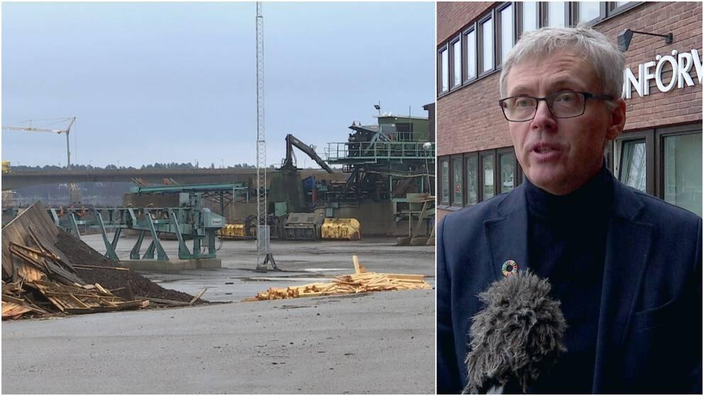 Rolfs såg i Kalix och kommunalrådet Tommy Nilsson