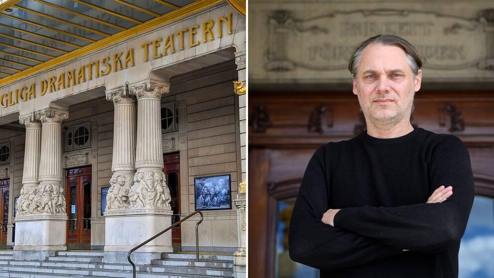 Mattias Andersson, teaterchef och konstnärlig ledare för Dramaten.