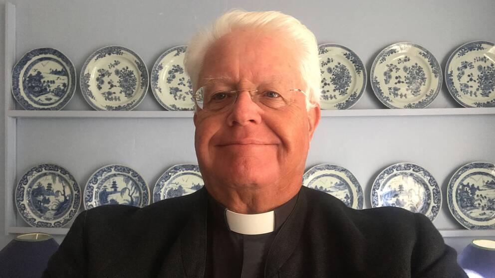 Hans Rhodin, kyrkoherde för Svenska kyrkan i södra Frankrike.