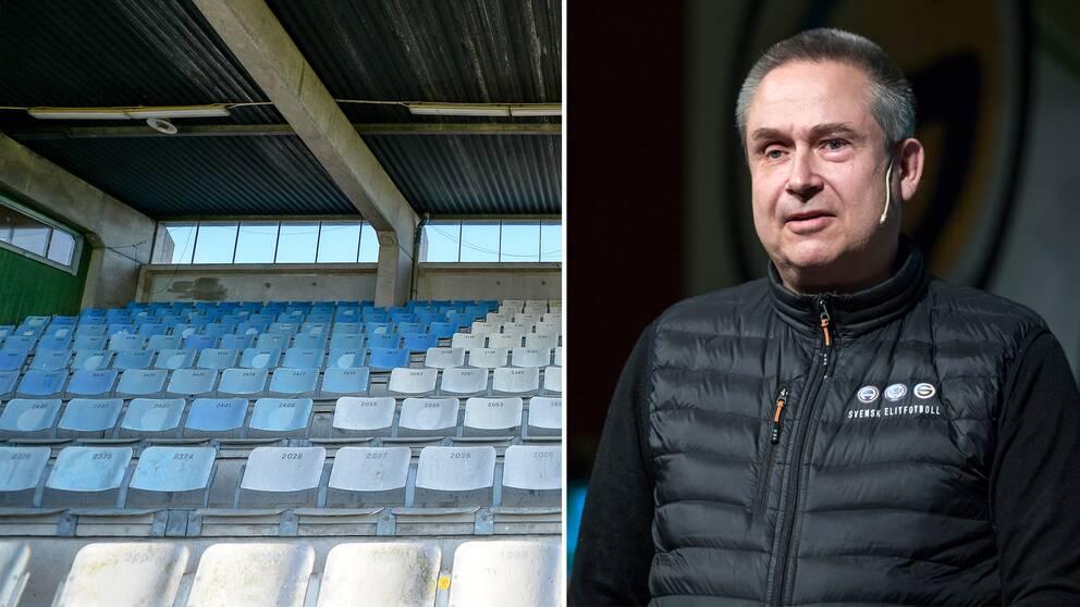 Arkivbild. Svensk Elitfotbolls generalsekreterare, Mats Enquist.
