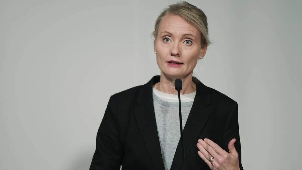 Karin Tegmark Wisell, avdelningschef på Folkhälsomyndigheten.