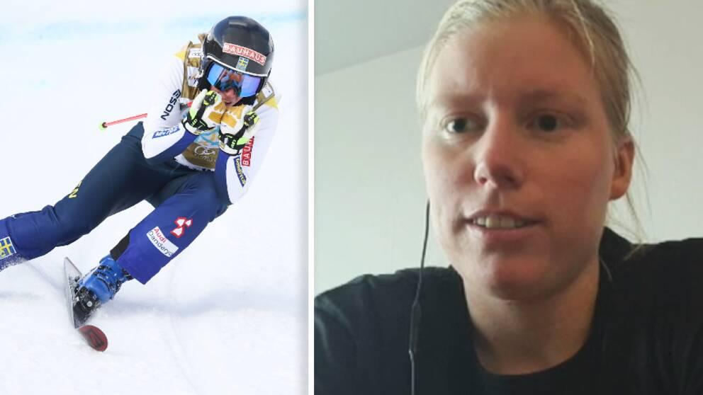 Sandra Näslund drömmer om en ny totalseger i världscupen.
