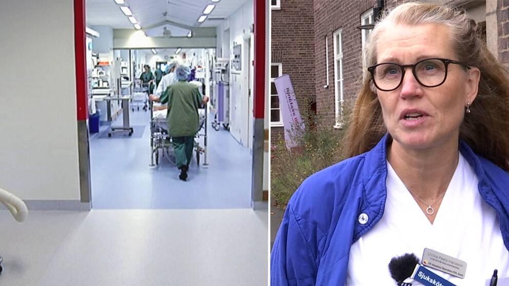 Ulrika Peetz Hansson, regionalt donationsansvarig sjuksköterska som arbetar på intensivvårdsavdelningen i Helsingborg.
