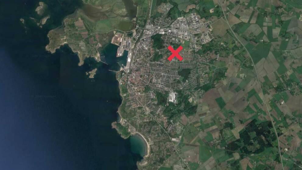 Det misstänkta mordförsöket inträffade i stadsdelen Håsten i Varberg.