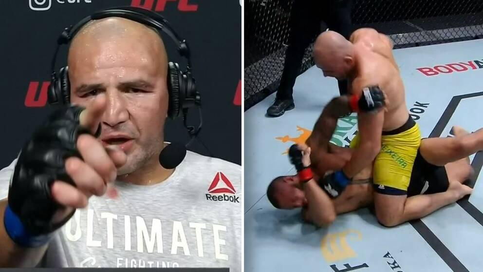Glover Teixeira vill få ännu en chans att bli UFC-mästare och vädjade till presidenten Dana White efter nattens seger.