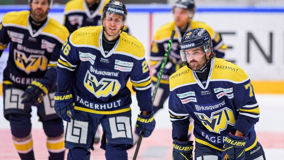 SHL-laget HV71 ställer in all sin verksamhet tills vidare.