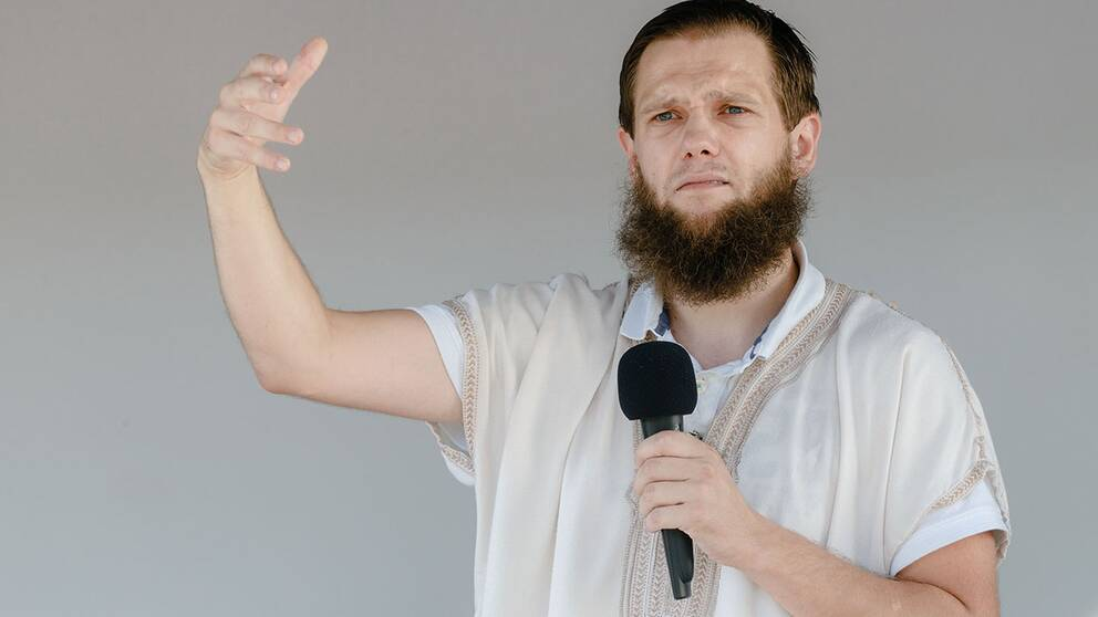 Den tyske salafistpredikanten Sven Lau.