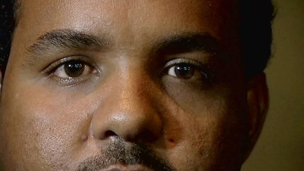 Abdulahi Hussein, som avslöjade bluffen bakom Martin Schibbyes och Johan Perssons gripande i Etiopien. Foto: SVT